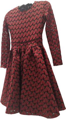 Maje Fall Winter 2019 Red Cotton Dresses