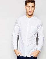 Esprit Grandad Shirt In Slim Fit