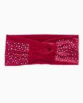 Charming charlie Rhinestone Velvet Headwrap