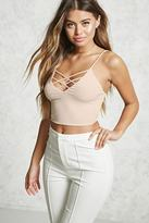 Forever 21 Strappy Knit Top