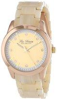 Ted Baker Women's TE4082 Dress Sport Rose Gold Marbelite Bracelet Watch