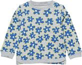 Stella McCartney Blue Daisy Print Sweatshirt