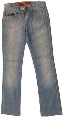Notify Jeans Blue Cotton Jeans for Women Vintage