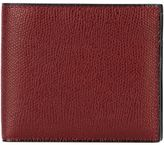 Valextra foldover wallet - men - Calf Leather - One Size