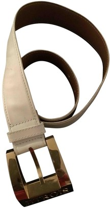 Jitrois White Leather Belts
