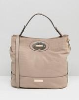 Carvela Nadia Embossed Slouch Bag