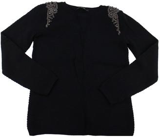 Hallhuber Black Cotton Knitwear for Women