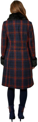 Joe Browns Faux Fur Collar Jacket Coat