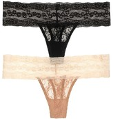 B.Tempt'd Lace Kiss Thong #970182