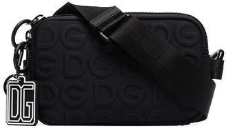 Dolce & Gabbana Embossed Logo Camera Bag