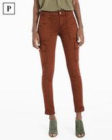 White House Black Market Petite Cargo Skimmer Jeans