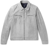 Solid Homme - Suede Jacket - Gray