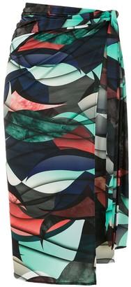 Lygia & Nanny printed Orixa sarong