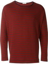 Societe Anonyme striped loose pullover
