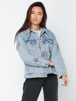 MinkPink Cosmos Crystal Denim Jacket