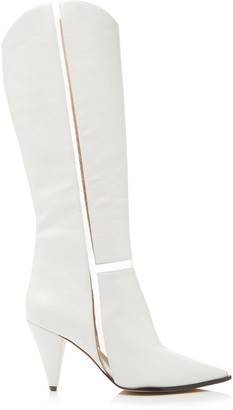 Alexandre Birman Dora PVC And Leather Ankle Boots