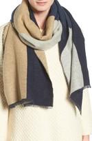 Eileen Fisher Women's Colorblock Cotton Blend Scarf