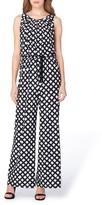 Tahari Women's Print Jersey Jumpsuit