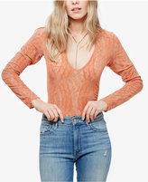 Free People On Dance Floor Sheer Bodysuit