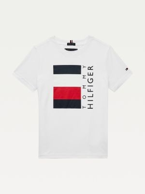 Tommy Hilfiger Signature Tape Logo Organic Cotton T-Shirt