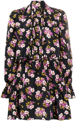 Zadig & Voltaire Floral Printed Skater Dress
