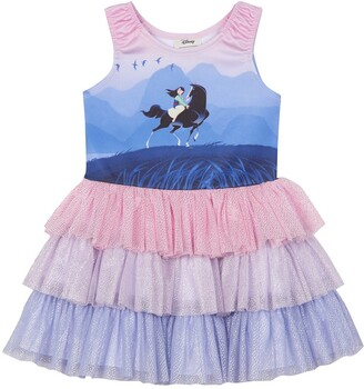 Pippa & Julie x Disney Mulan Tiered Dress