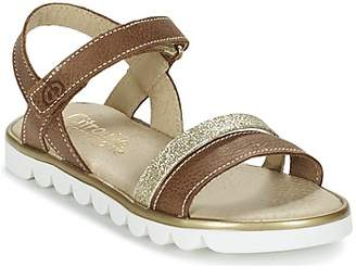 Citrouille et Compagnie GIPPO girls's Sandals in Brown