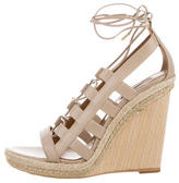 Aquazzura Leather Amazon Wedges w/ Tags