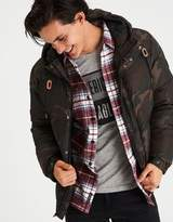 American Eagle Outfitters AE Camo Puffer Jacket