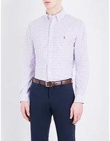 Polo Ralph Lauren Windowpane Check Standard-fit Cotton Shirt