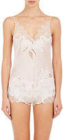 Carine Gilson Women's Georgette Camisole-PINK, IVORY