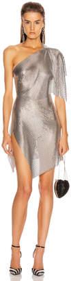 Fannie Schiavoni Rosie Dress in Silver   FWRD