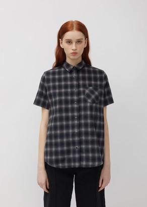 Sacai Ombre Check Flannel Shirt