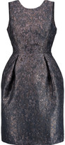 Iris and Ink Metallic jacquard dress