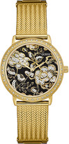GUESS Willow gold-tone watch
