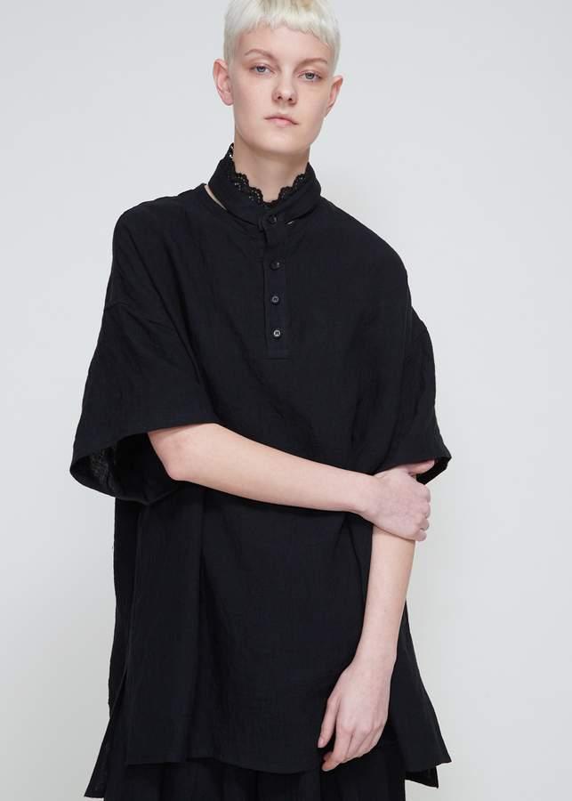 Yohji Yamamoto Lace Collar Blouse