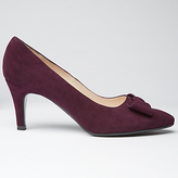 Peter Kaiser Valona Bow Pointed Toe Court Shoes