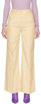 Nina Ricci Beige Wide-leg Trousers