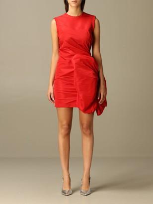 N°21 Mini Dress N deg; 21 With Maxi Sculpture Bow