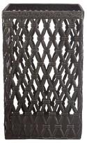 """A&B Home Woven Metal Basket - Black (10"""")"""