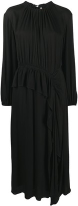 Ulla Johnson Ruffle-Trimmed Maxi Dress