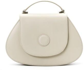 A.Cloud Hal Circle Dot Handle Bag - Grey White