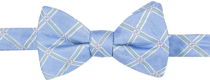 Countess Mara Men's Reiss Grid Pre-Tied Bow Tie