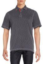 Saks Fifth Avenue Short Sleeve Polo Tee