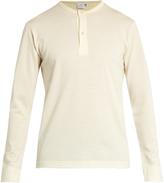 Sunspel Henley vintage wool sweater