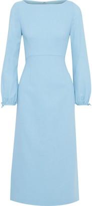 Goat Honor Wool-crepe Midi Dress