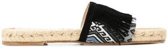 Solange fringed slides