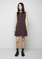 Marni Sable St. Windowpane Dress
