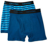 Calvin Klein Boys 4-5) Two-Pack Boxer Briefs