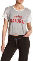 Wildfox Couture Act Natural Tee